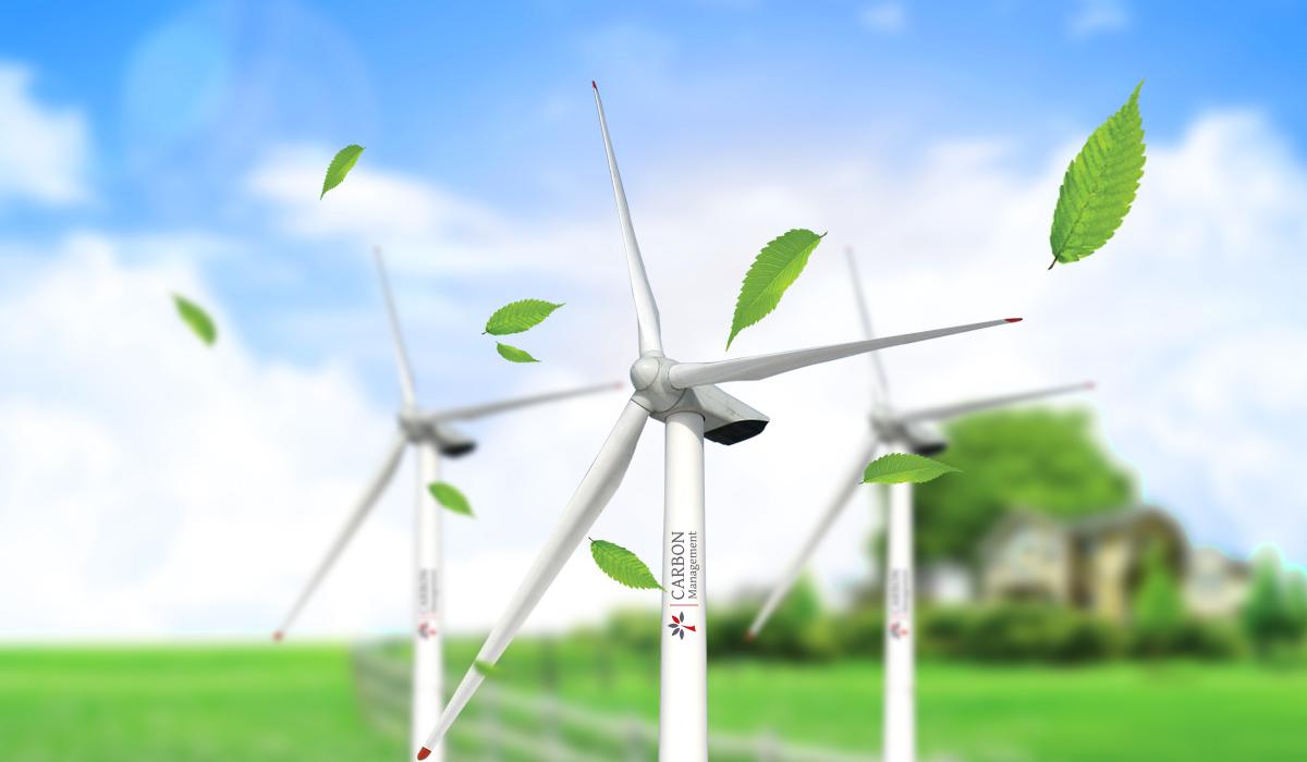 Разработка фирменного стиля экологической компании Carbon Management