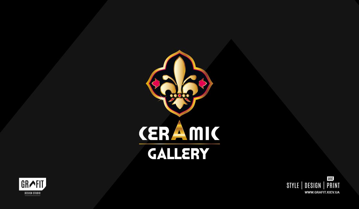 Разработка логотипа Ceramic Gallery